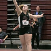 The Midland Wachusett Division B League Meet was held at Fitchburg High School Saturday, Feb. 1, 2020. Groton Dunstable Regional High School's #187 Julia Furman competes in the shot putt. SENTINEL & ENTERPRISE/JOHN LOVE