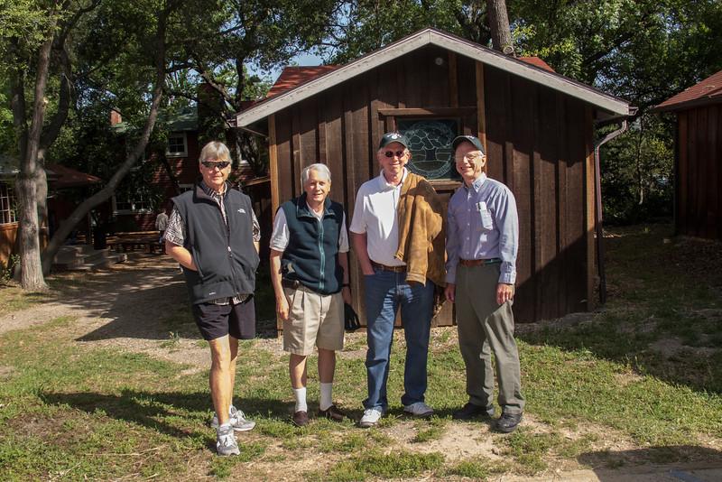 PETE KUNASZ, ALLAN WENTWORTH, ALAN FREEMAN AND PEYTON CARR