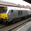 67015 awaits the next run to London Marylebone at Birmingham Moor St