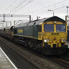 66560 heads through Bescot Stadium on 4Z42 Rugeley PS - Stoke Gifford