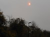 pic by Liz <br /> <br /> due to the tail end of a storm and fires in Spain and Portugal the sun <br /> <br /> today had a red glow about it and Liz took this cool shot of the red glow <br /> <br /> on the sun