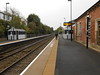 pic by Liz <br /> <br /> looking along plat 1 towards Worcester Shrub Hill