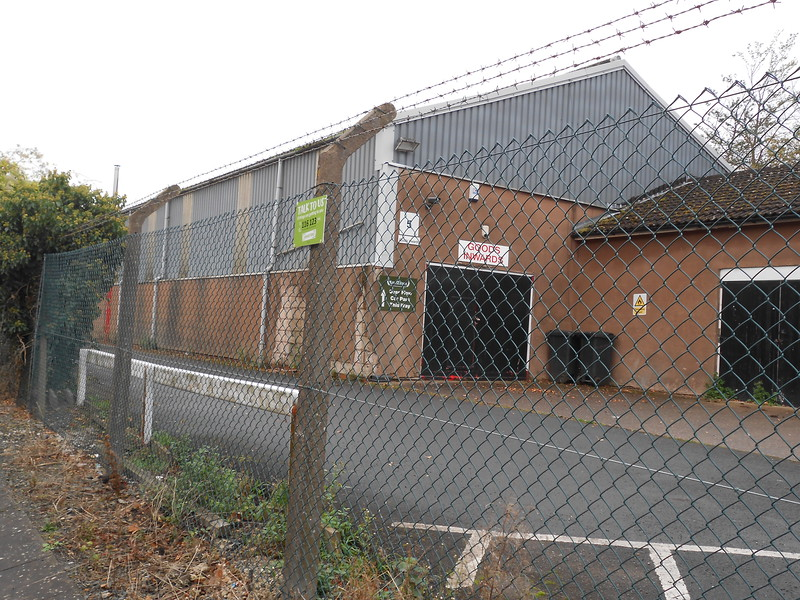 pic by Liz <br /> <br /> industrial units behind the fence of plat 1