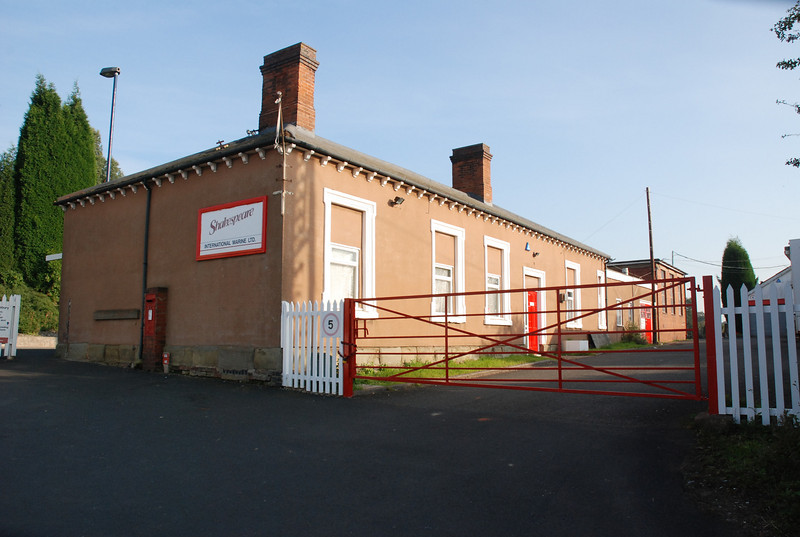 What was the station building is now in use as an industrial unit used <br /> <br /> by a Marine Engineering Firm