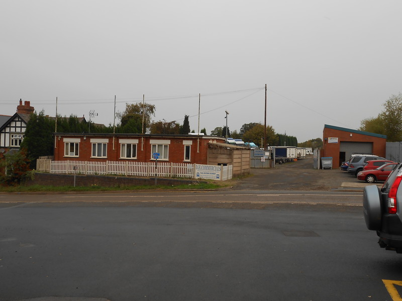 pic by Liz <br /> <br /> More industrial units across from the station car-park