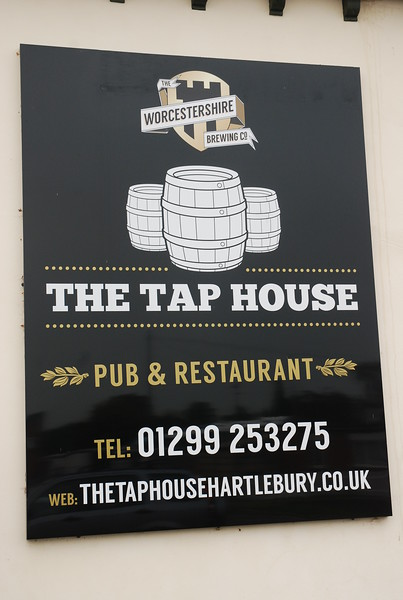 The sign for the pub
