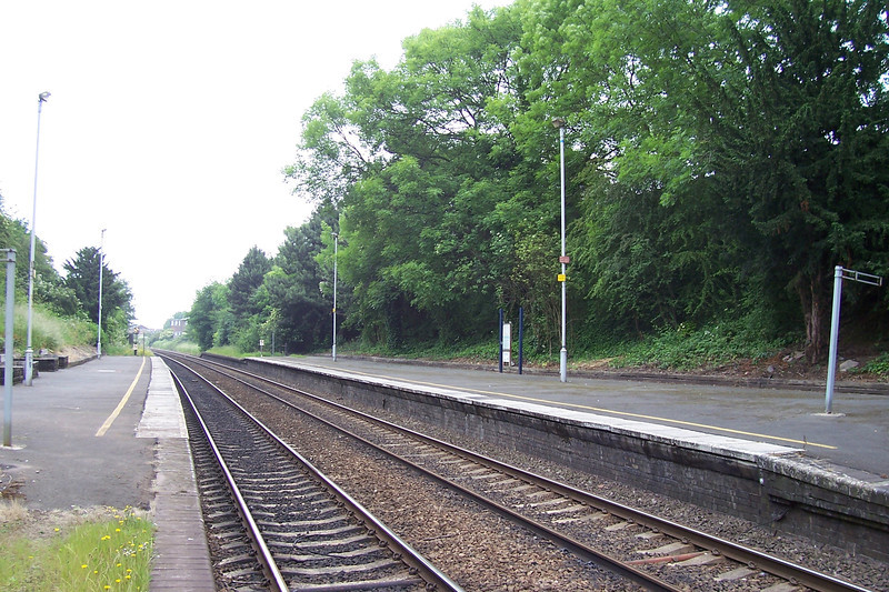 Shot of the station from the Derby Bound platform looking towards Derby