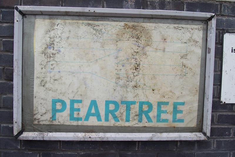 Peartree<br /> <br /> Ghost Station Man station # 17<br /> Address:<br /> <br /> Osmaston Park Road<br /> Peartree<br /> Derby<br /> Derbyshire<br /> DE24 8DT <br /> <br /> Location: Between Derby & Willington <br /> <br /> East Midland trains Timetable # 5 Derby - Crewe via Stoke on Trent