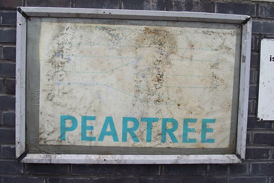 Peartree  Ghost Station Man station # 17 Address:  Osmaston Park Road Peartree Derby Derbyshire DE24 8DT   Location: Between Derby & Willington   East Midland trains Timetable # 5 Derby - Crewe via Stoke on Trent