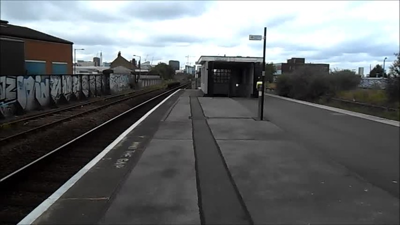1 min 51 sec vid Walking from Platform to Street
