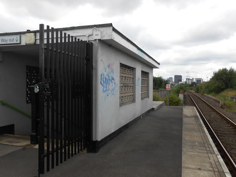 side of exit looking towards Birmingham