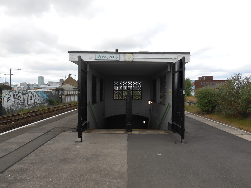 The exit gates