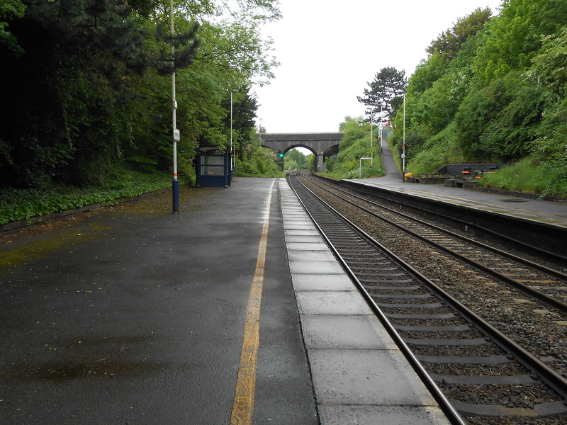 Pic by Liz <br /> <br /> Looking back towards Crewe
