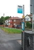 "The bus Stop at derby Bound Platform entrance side of Bridge you <br /> <br /> can get a 4 or a 4A Arriva bus back to derby Bus station from here or <br /> <br /> change at the Blue Peter Pub and get a bus back to Derby Station <br /> <br /> that all drop ya right outside<br /> <br /> Arriva Bus timetable 4 4A link below <br /> <br />  <a href=""https://www.arrivabus.co.uk/midlands/services/4-4a---derby-to-allenton/"">https://www.arrivabus.co.uk/midlands/services/4-4a---derby-to-allenton/</a>"