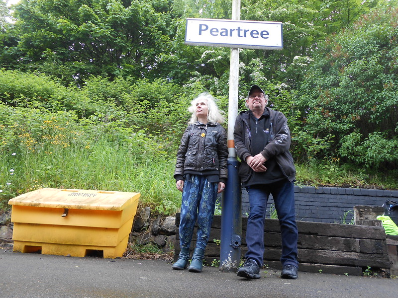 80's album cover shot Peartree 16 May 2017