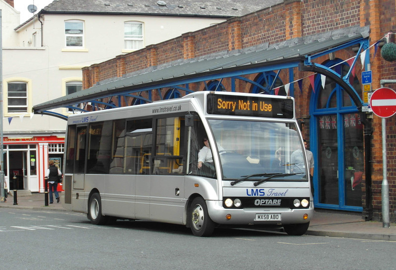 MX58ABO - Worcester (Angel Place) - 28.8.12