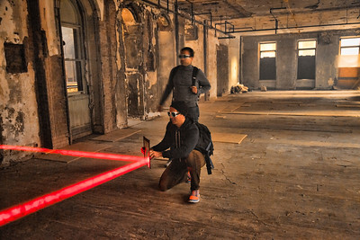 Zone 3: Laser Puzzle at 5 Beekman Street