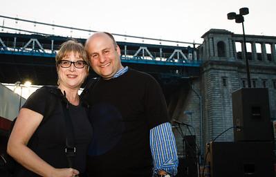 Lynn Bartner-Wiesel and MG.