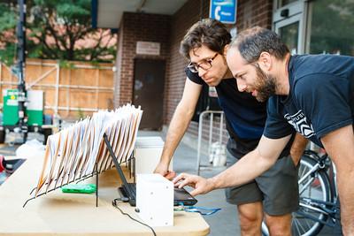 The Starting Line. Jason Das and Mathew Laibowitz