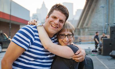 David Gittleman and Lynn Bartner-Wiesel