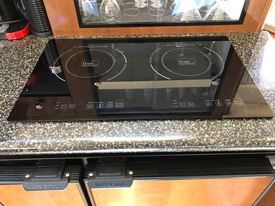 Replaced stove with induction stove