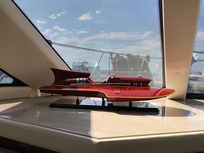 Handmade replica of 1954 Ferrari Hydroplane, Nando Dell'Orto