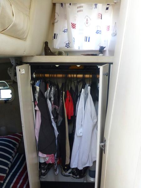 Aft Hanging Locker