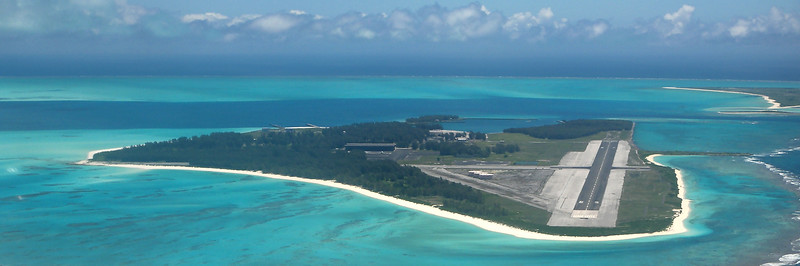 Midway Island Aerial Panorama