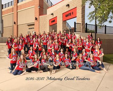 All Goal Tender Team and Calendar Photos