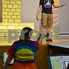"Jacob Ihm of Cortland, 19, performs as Joseph on stage as Tracey Busby directs during rehearsal on Sept. 22 for Children's Community Theater's Penguin Project production of ""Joseph and the Amazing Technicolor Dreamcoat."" The musical will be performed this weekend at the Sycamore High School Auditorium."