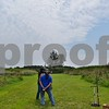 Katrina J.E. Milton - kmilton@shawmedia.com<br /> Misty Underhill of Algonquin shoots a clay pigeon with a 28-gauge semi-automatic shotgun on Aug. 20, during the Shabbona Lake Youth and Women's Wingshooting Clinic. She is pictured with llinois Department of Natural Resources instructor candidate Ed Anderson and instructor Nancy Donaldson.