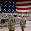 Katrina J.E. Milton - kmilton@shawmedia.com<br /> Cadet members of the DeKalb County Composite Squadron of the Civil Air Patrol fall into formation during a meeting on Sept. 8 at DeKalb Taylor Municipal Airport. The squadron's dedication and inauguration will be held at the airport at 10 a.m. Sept. 23.