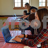 Five girls attended the introductory meeting of the Girls Who Code program held at the Sycamore Public Library on Saturday. The newly formed group is part of the nonprofit organization Girls Who Code, which has more than 40,000 members in all 50 states.
