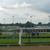 The finish line at Churchill Downs
