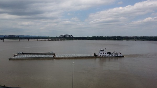 Barging on the Ohio River