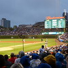 Wednesday night game at Wrigley Field