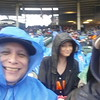 Photo-bombed by another Giants fan at Bush Stadium