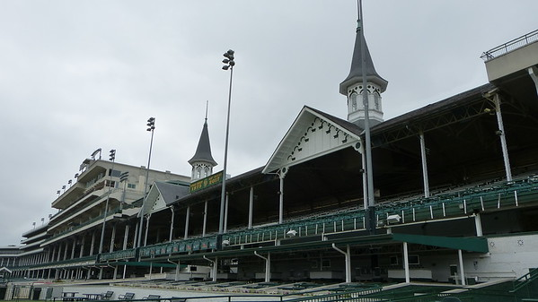 Grandstand at Churchill Downs