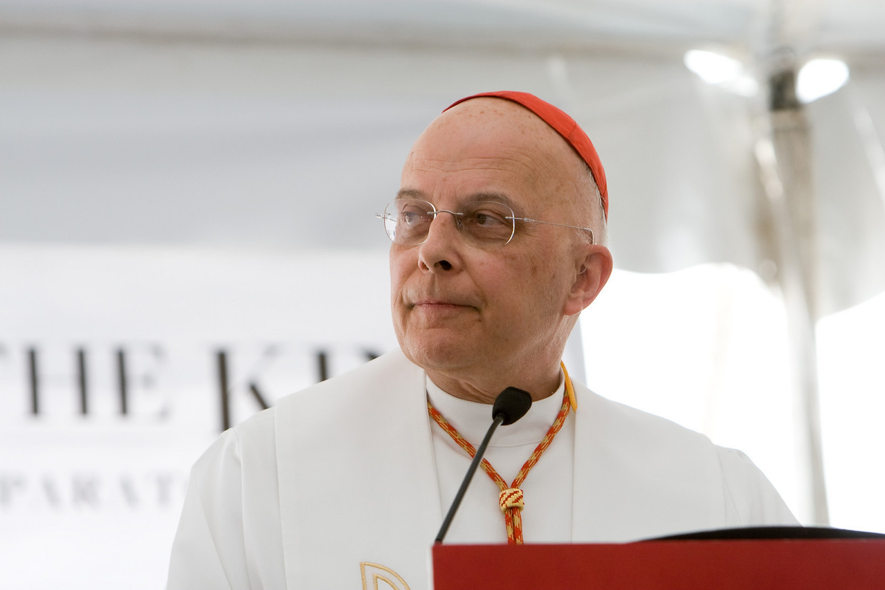 "Cardinal Francis George spoke of St. Paul's statement that all are coworkers with the Lord. The Cristo Rey model was created ""to take seriously the capacity of young people to be coworkers in their formation and education,"" the cardinal said. ""Politics can divide, but service always unites."""