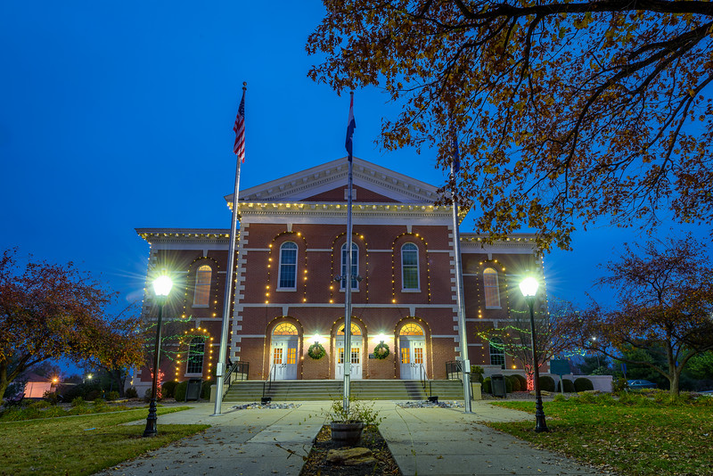 Platte County Courthouse - Front