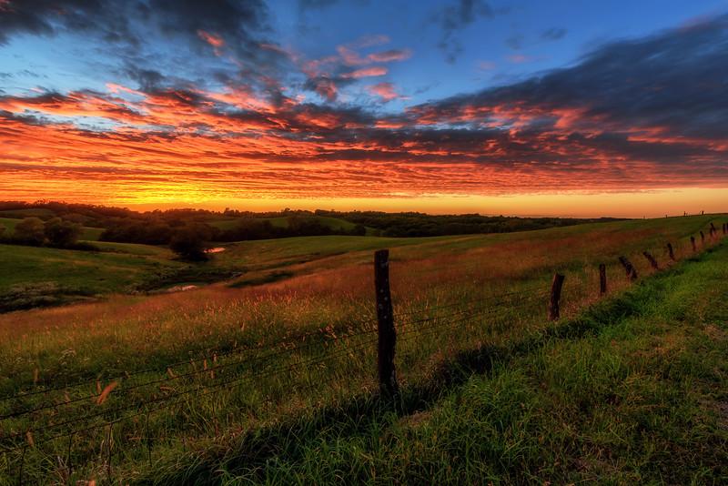 Farley Sunset Fence