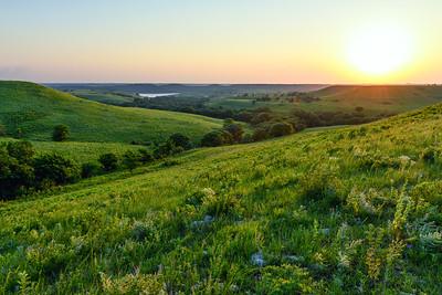 Flint Hills Sunset Delight