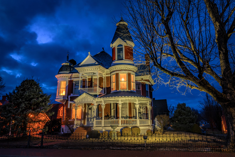 Victorian Mansion - Side View