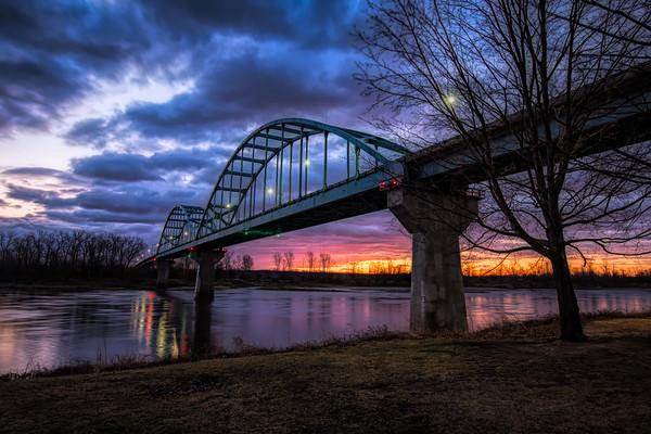 Centennial Bridge - Leavenworth, KS