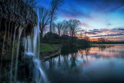 Thousand Oaks Waterfall