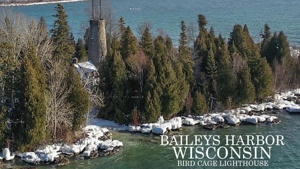 Baileys Harbor Lighthouse 360