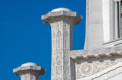 The Baha'i Temple (III)