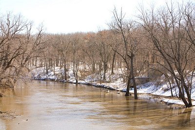 Sangamon River and Springhouse