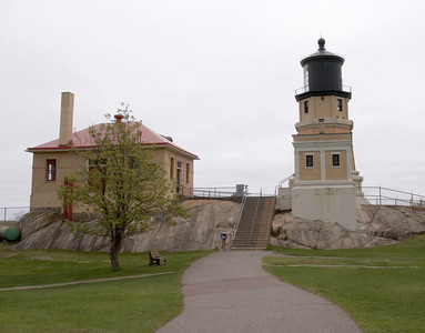 Split Rock Lighthouse and Fog Horn Building