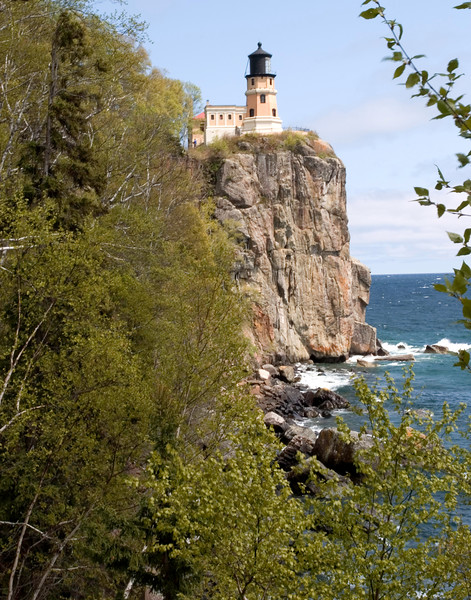 Split Rock Lighthouse (traditional postcard view)